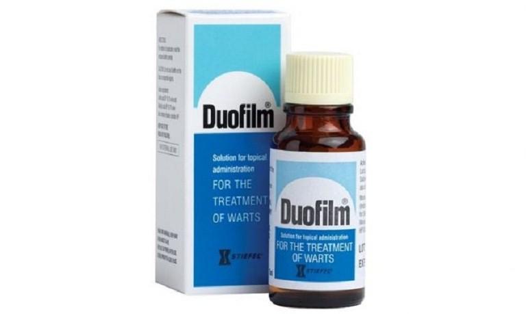 Thuốc trị mụn cóc Duofilm