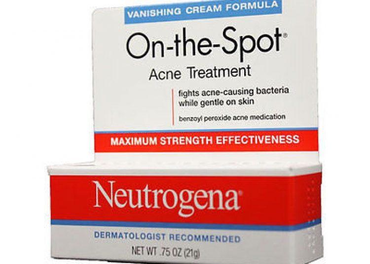 Kem Neutrogena on-the-spot Acne Treatment - Cách trị mụn trứng cá nhanh nhất