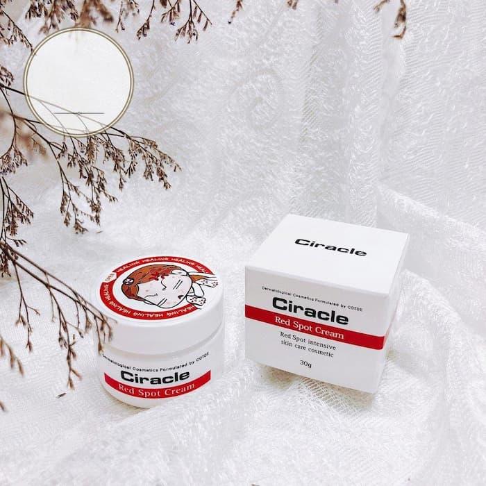 Kem đặc trị mụn trứng cá Ciracle Red Spot Cream 30g