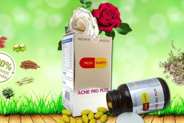 Thuốc uống đặc trị mụn trứng cá Acne Pro Plus