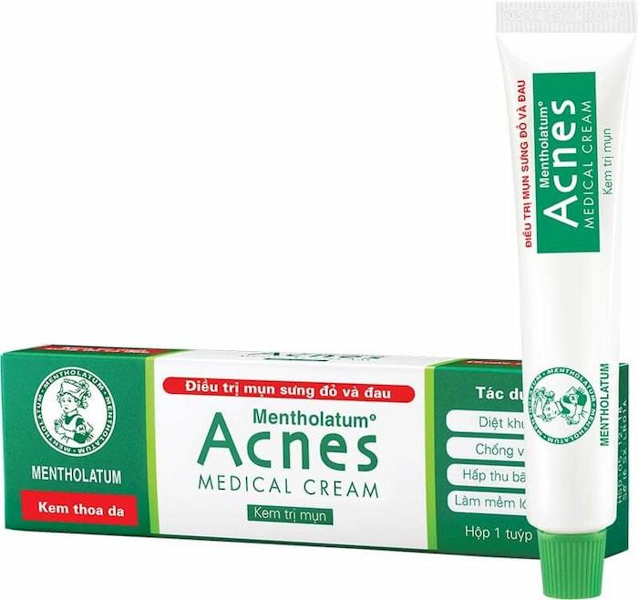 Kem Acnes trị mụn ẩn dưới da