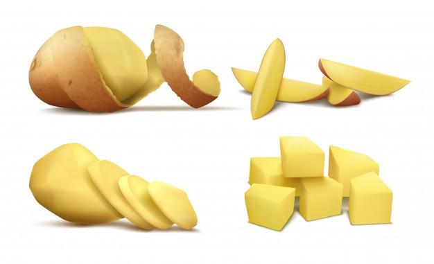 Cách trị mụn đầu đen ở má tại nhà bằng sữa chua + khoai tây
