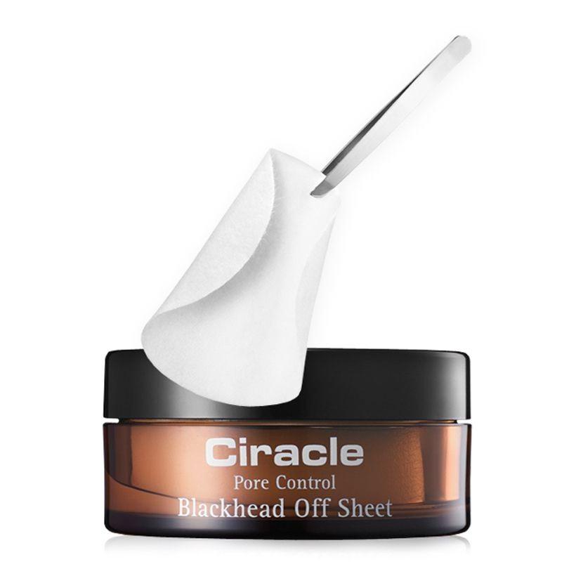Mặt nạ mụn đầu đen Ciracle Pore Control Blackhead Off Sheet