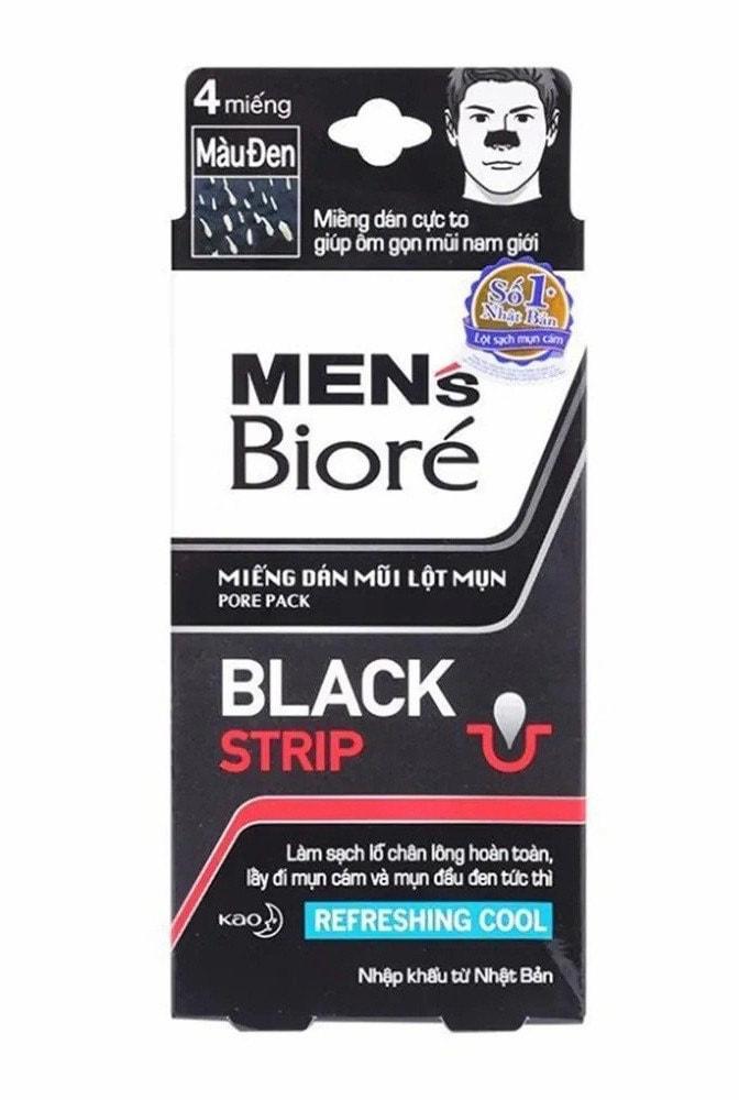 Mặt nạ lột mụn đầu đen cho nam giới Biore