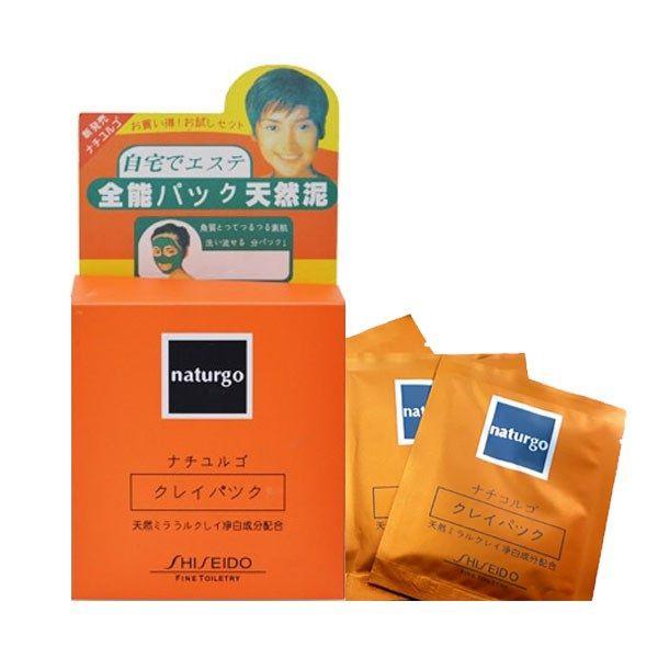 Công dụng mặt nạ lột mụn đầu đen Shiseido Naturgo
