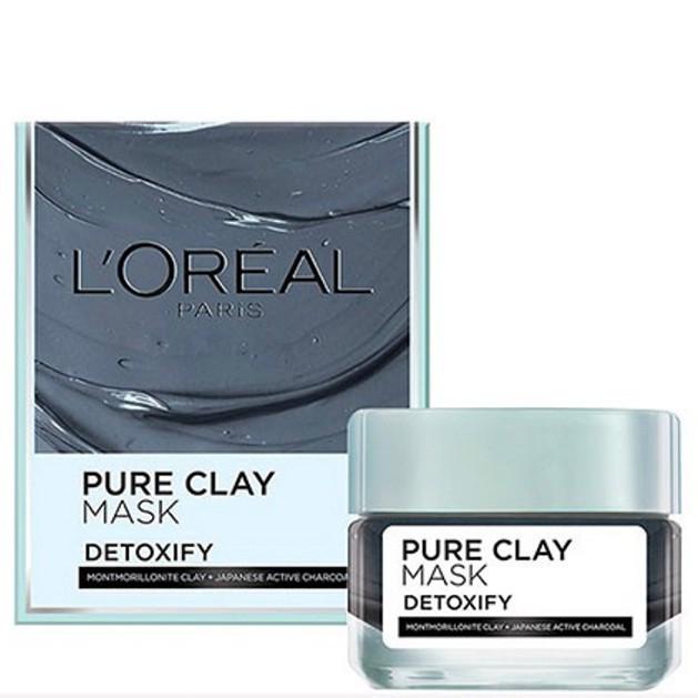 Mặt nạ hút mụn đầu đen L'Oreal Paris Pure Clay Mask Detoxify