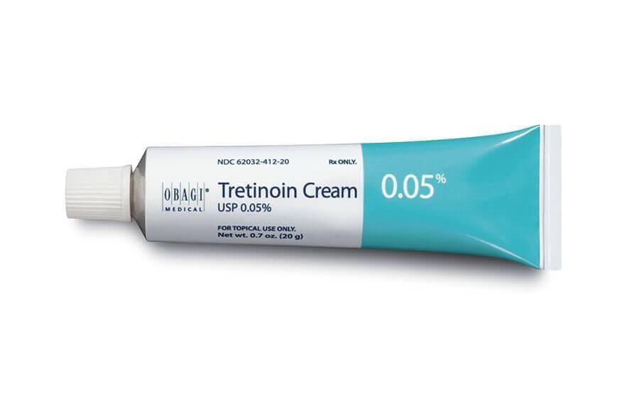 Sản phẩm trị mụn đầu đen ở má - Retinoids
