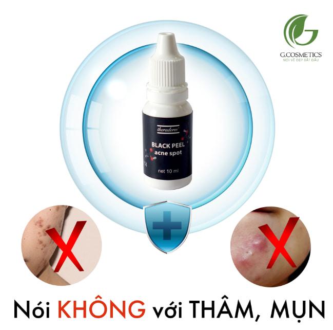 Ai nên sử dụng serum chấm mụn Theraderm Black Peel Acne Spot?