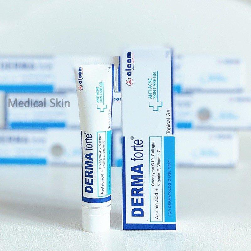 Đối tượng sử dụng gel trị mụn Derma Forte