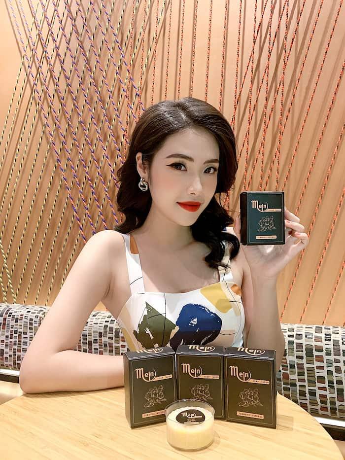 Hotgirl Hồng Nhung sử dụng về xà bông nghệ Mein