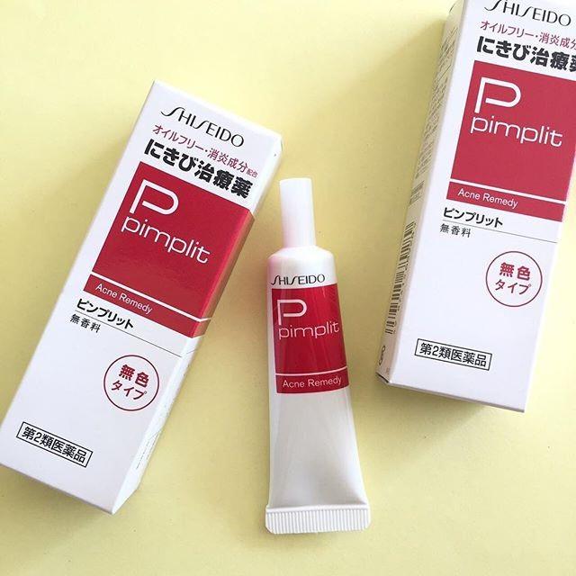 Kem trị mụn ẩn của Nhật Shiseido Pimplit