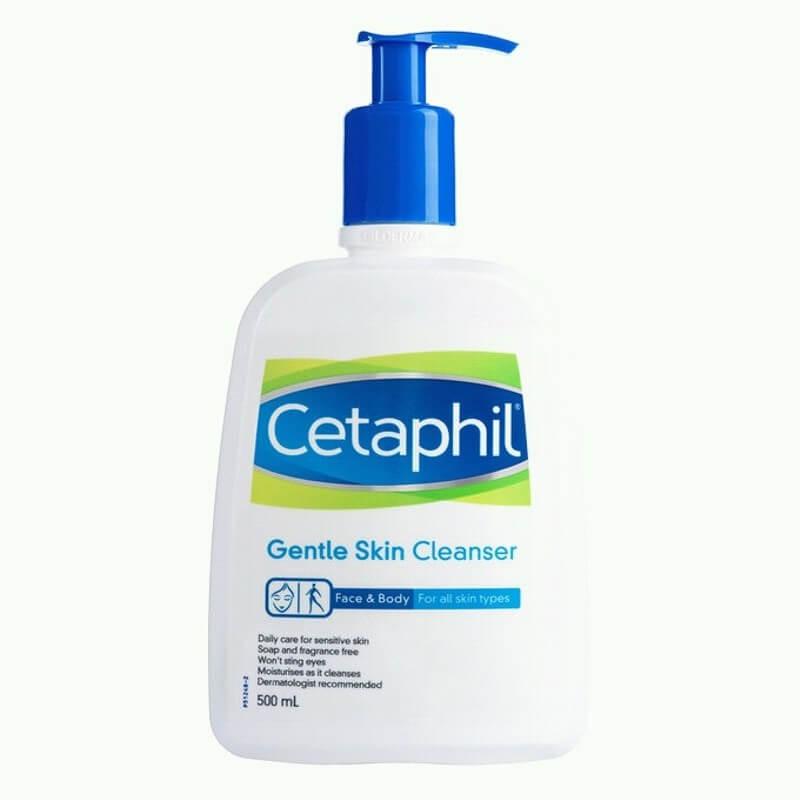 Sữa rửa mặt trị mụn ẩn dưới da Cetaphil Gentle Skin Cleaner