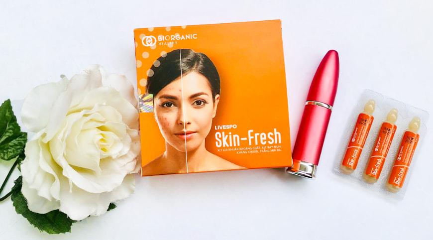 Xịt lợi khuẩn Skin Fresh lừa đảo không?