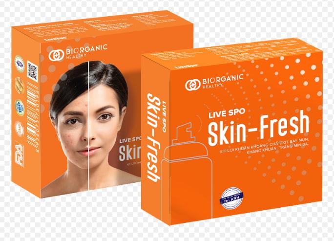 Xịt lợi khuẩn Skin Fresh giá bao nhiêu?